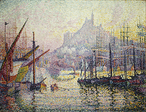 View of the Port of Marseilles 1905 | Paul Signac | Oil Painting