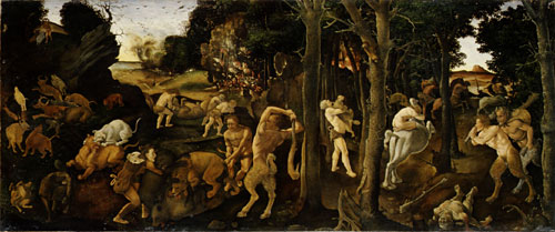 A Hunting Scene | Piero di Cosimo | Oil Painting