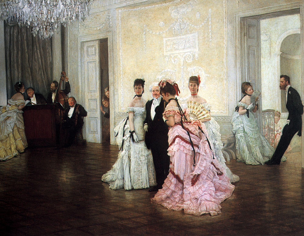 Too Early | Jacques Joseph Tissot | Oil Painting