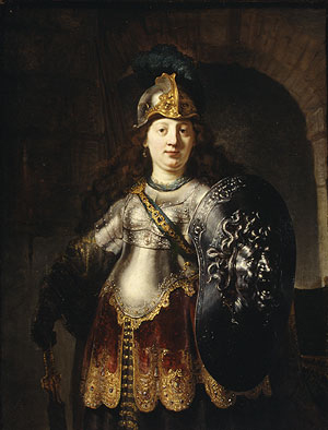 Bellona 1633 | Rembrandt | Oil Painting