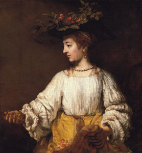 Flora probably early 1650s | Rembrandt | Oil Painting