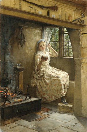 A Cosey Corner 1884 | Frank Millet | Oil Painting
