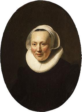 Portrait of a Woman 1633 | Rembrandt | Oil Painting