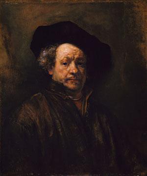 Self portrait 1660 | Rembrandt | Oil Painting