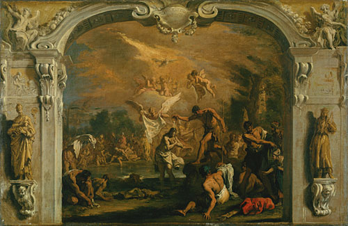 The Baptism of Christ | Sebastiano Ricci | Oil Painting