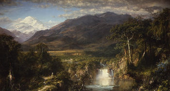 Heart of the Andes 1859 | Frederic Edwin Church | Oil Painting