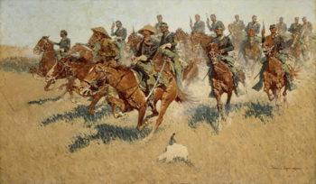 On the Southern Plains 1907 | Frederic Remington | Oil Painting