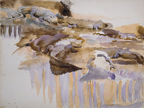 Alligators 1917 | John Singer Sargent | Oil Painting