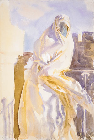Arab Woman | John Singer Sargent | Oil Painting