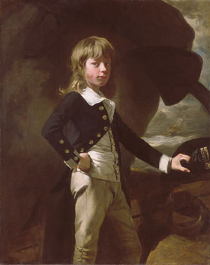 Midshipman Augustus Brine 1782 | John Singleton Copley | Oil Painting