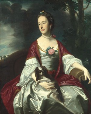 Mrs Jerathmael Bowers 1763 | John Singleton Copley | Oil Painting