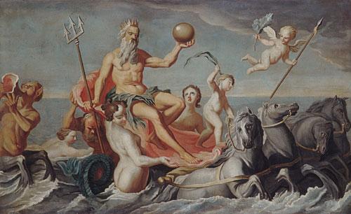 The Return of Neptune 1754 | John Singleton Copley | Oil Painting