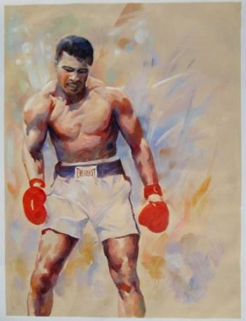 Painting of Muhammed Ali