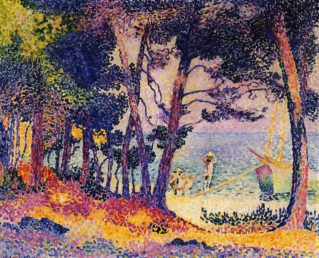 A Pine Wood, Provence 1906