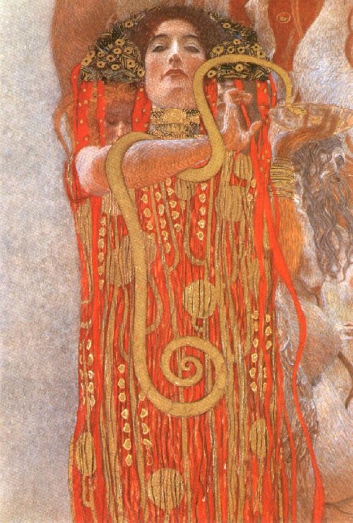 Hygeia Detail from Medicine 1900-07