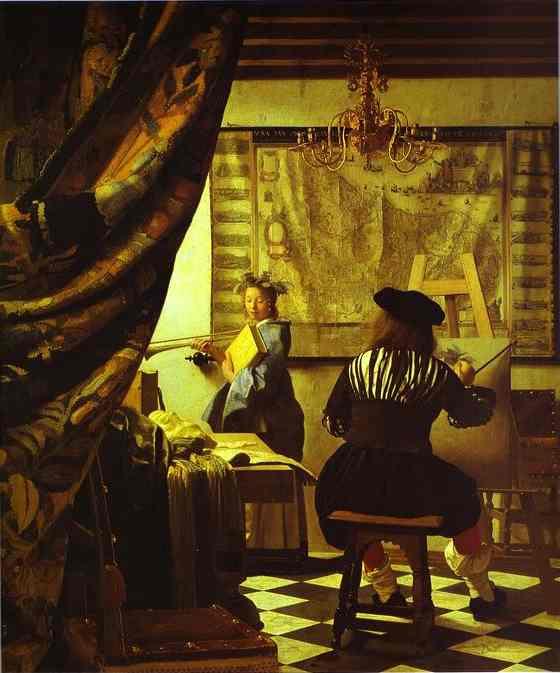 The Art Of Painting 1666-1673 | Jan Vermeer | Oil Painting