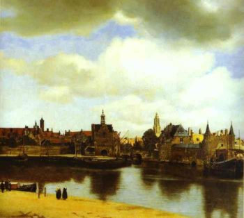 View Of Delfi 1660-1661 | Jan Vermeer | Oil Painting