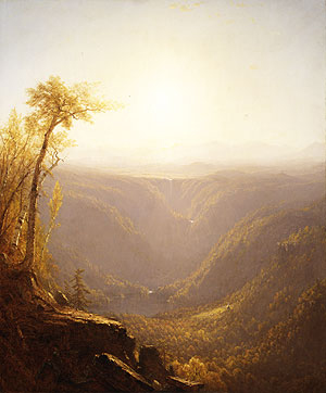 A Gorge in the Mountains 1862 | Sanford Robinson Gifford | Oil Painting