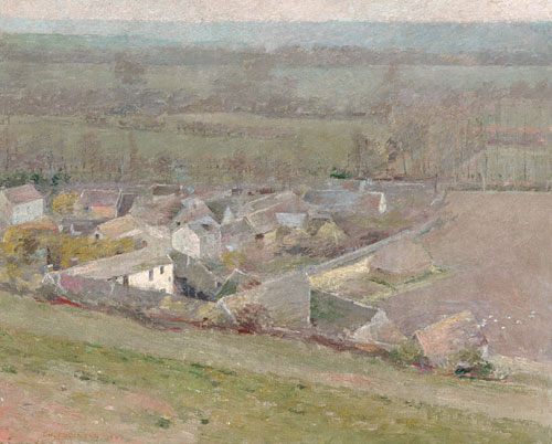 A Bird's Eye View 1889 | Theodore Robinson | Oil Painting