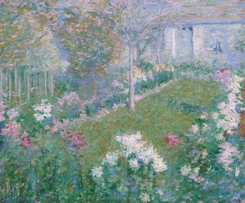 A Garden, House Baptiste 1895