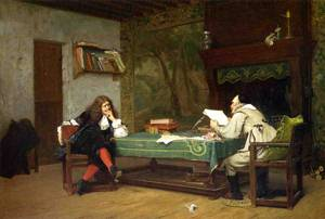 A Collaboration Corneille and Molie 1873 | Jean Leon Gerome | Oil Painting