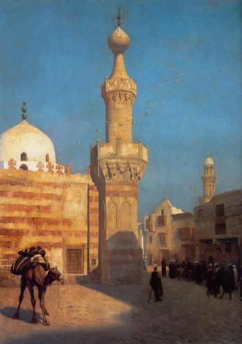 A View of Cairo 1890 | Jean Leon Gerome | Oil Painting