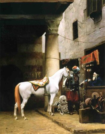 Arab Purchasing a Briide 1881 | Jean Leon Gerome | Oil Painting