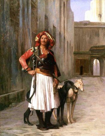 Arnaut from Cairo 1867 | Jean Leon Gerome | Oil Painting