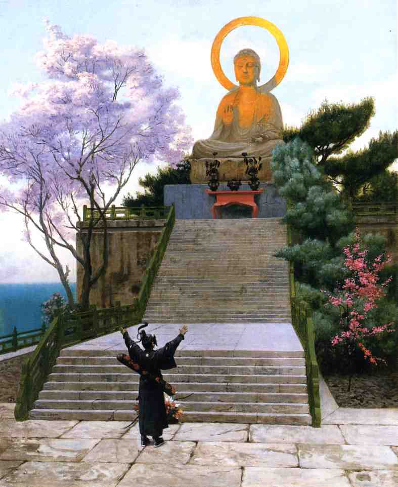 Japanese Imploring a Divinity 1885 | Jean Leon Gerome | Oil Painting