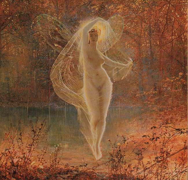 Autumn | John Atkinson Grimshaw | Oil Painting