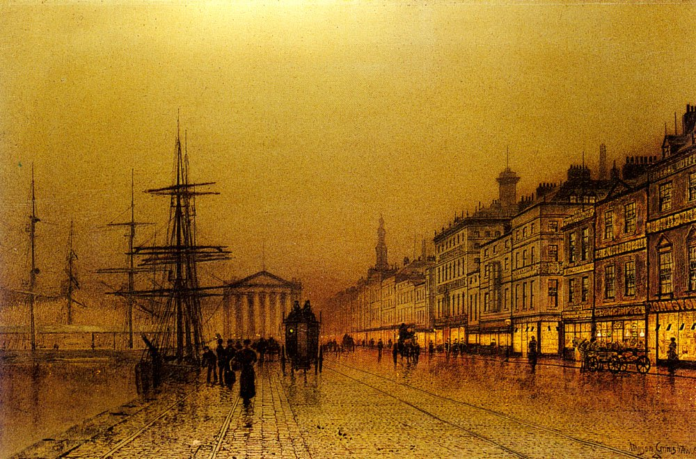 Greenock   John Atkinson Grimshaw   Oil Painting