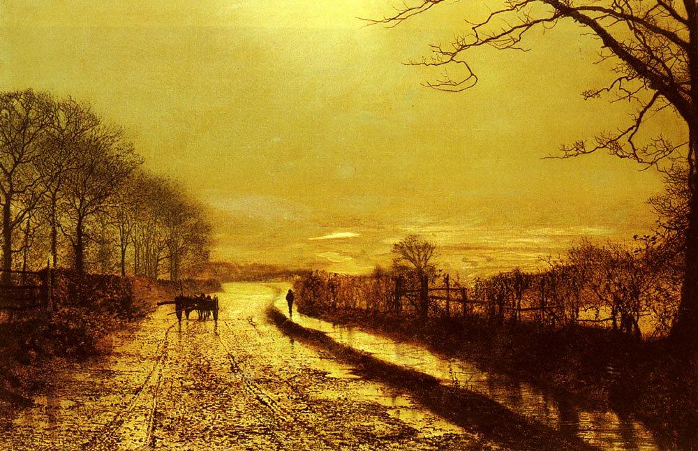 Wharfedale   John Atkinson Grimshaw   Oil Painting