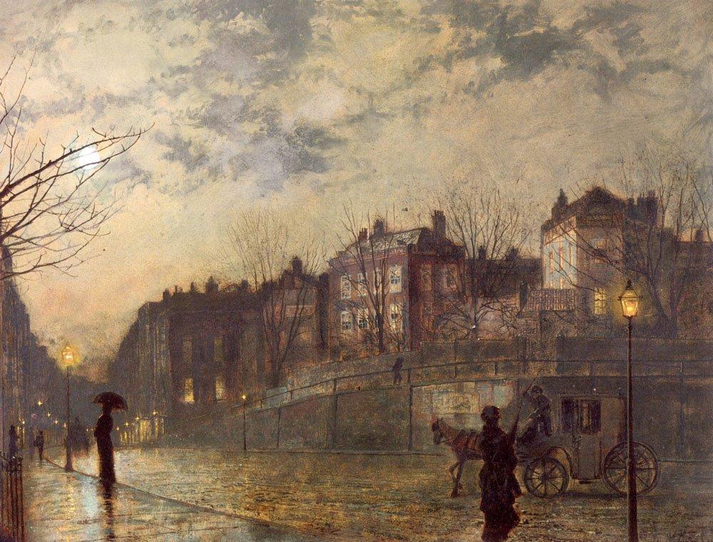Hampstead   John Atkinson Grimshaw   Oil Painting