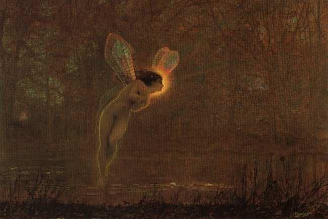 Iris   John Atkinson Grimshaw   Oil Painting