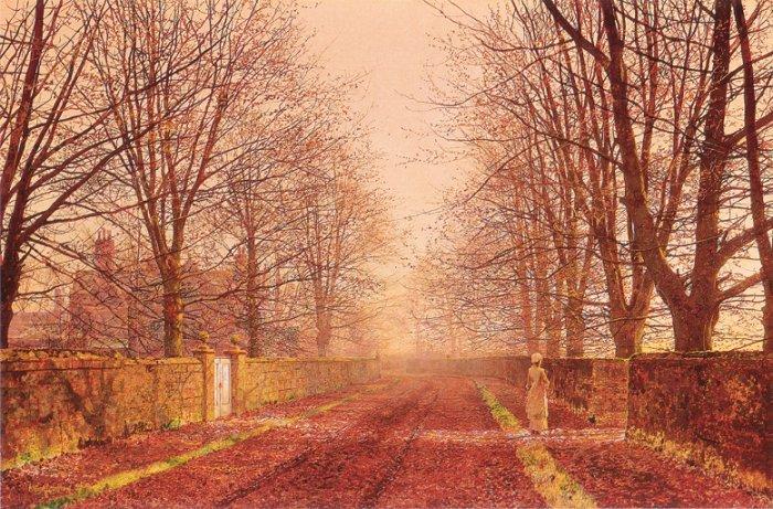 Golden Light 1893   John Atkinson Grimshaw   Oil Painting