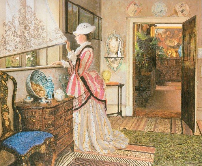 Summer 1875   John Atkinson Grimshaw   Oil Painting