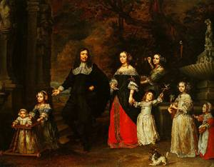 A Family Group 1664 | Gonzales Coques | Oil Painting