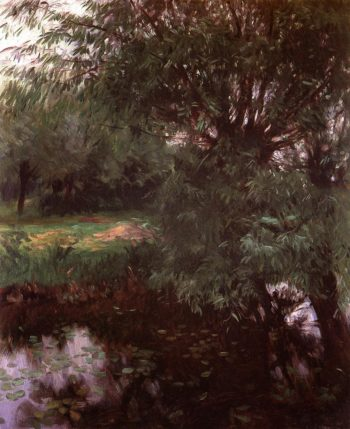 A Backwater at Wargrave 1887 | John Singer Sargent | Oil Painting