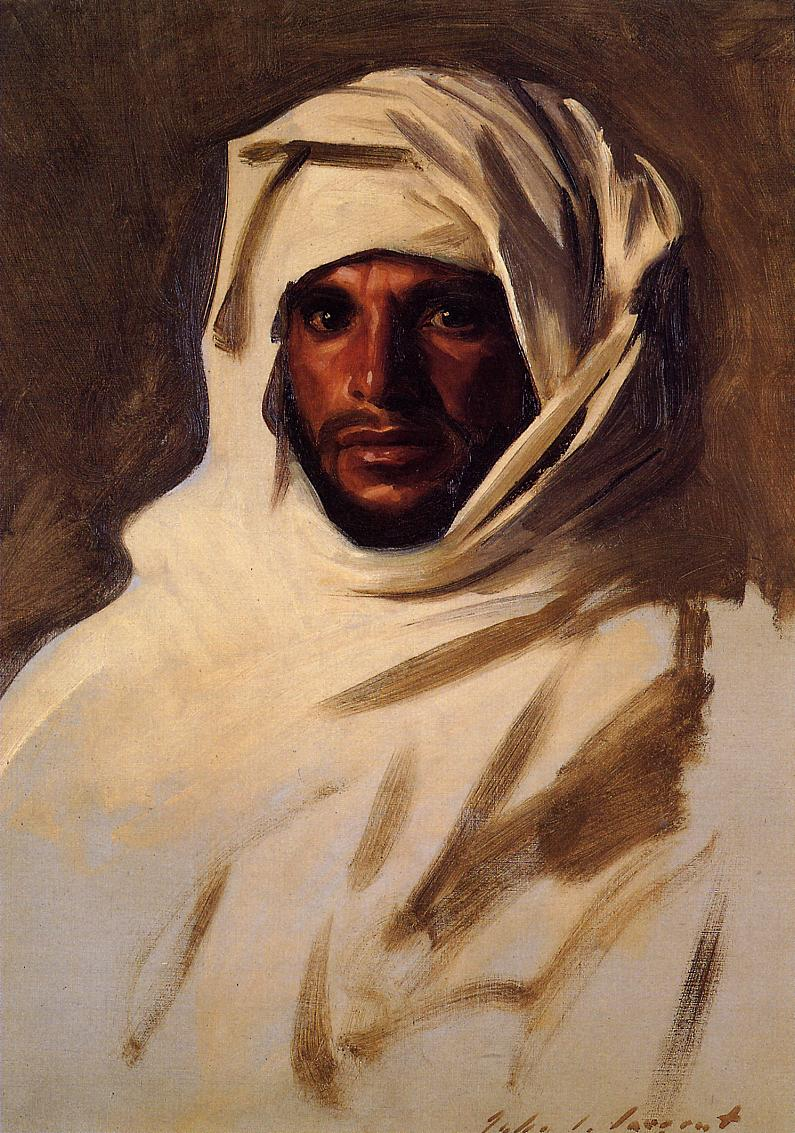 A Bedouin Arab 1891 | John Singer Sargent | Oil Painting