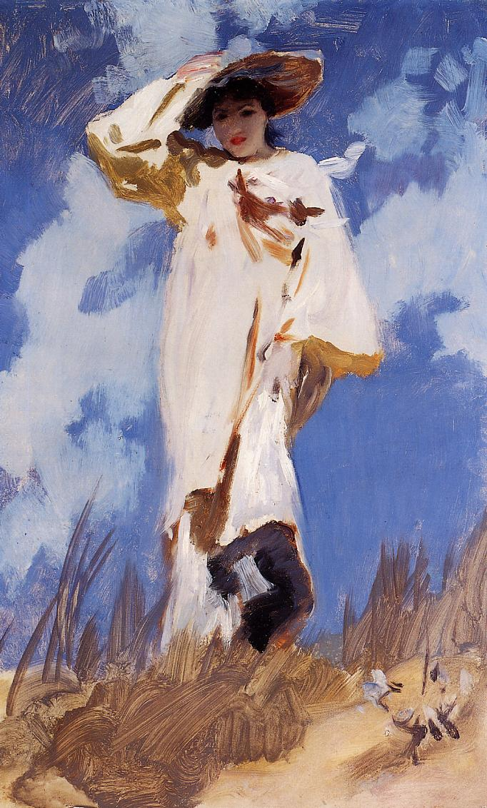 A Gust of Wind 1886-1887 | John Singer Sargent | Oil Painting