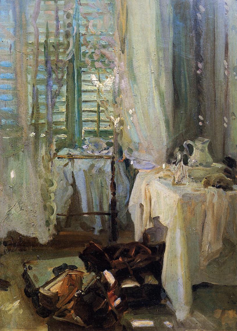 A Hotel Room 1906-1907 | John Singer Sargent | Oil Painting