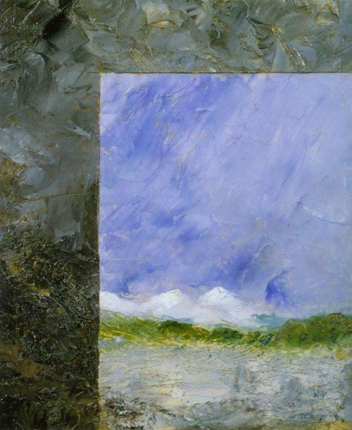 Double Image 1892 | August Strindberg | Oil Painting