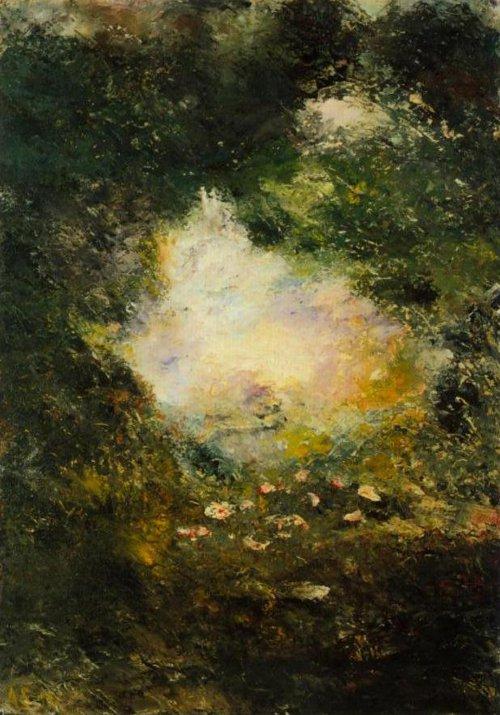 Wonderland 1894   August Strindberg   Oil Painting