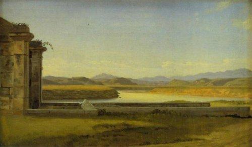 Fontana Acetosa 1814 | C.w.Eckersberg | Oil Painting