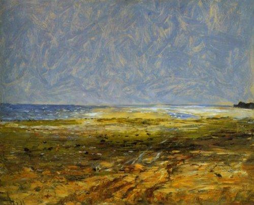 Beach at Luc sur Mer 1876 | Carl Fredrik Hill | Oil Painting
