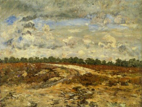 Wild Country Forest Of Fontainebleau 1876   Carl Fredrik Hill   Oil Painting