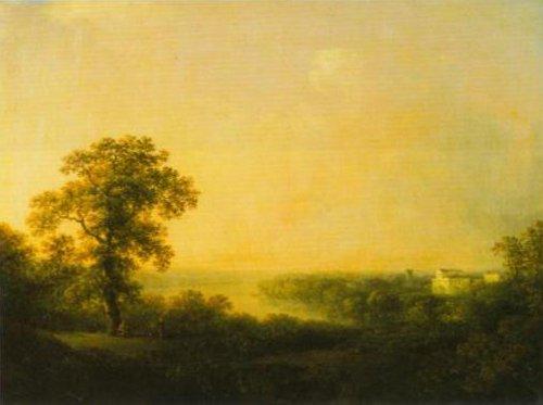 View over Haga 1811   Carl Johan Fahlcrantz   Oil Painting