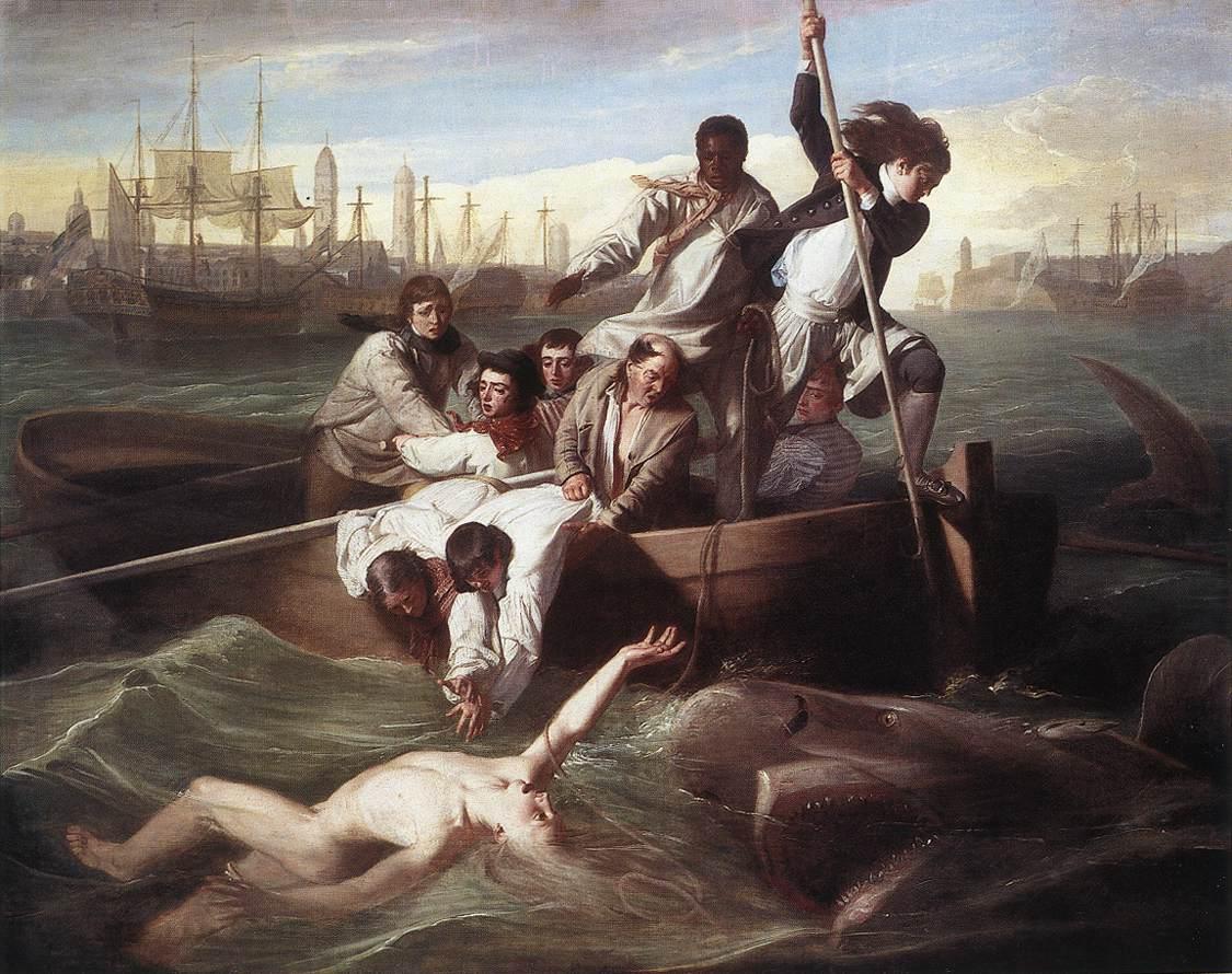 Brook Watson And The Shark 1778 | John Singleton Copley | Oil Painting