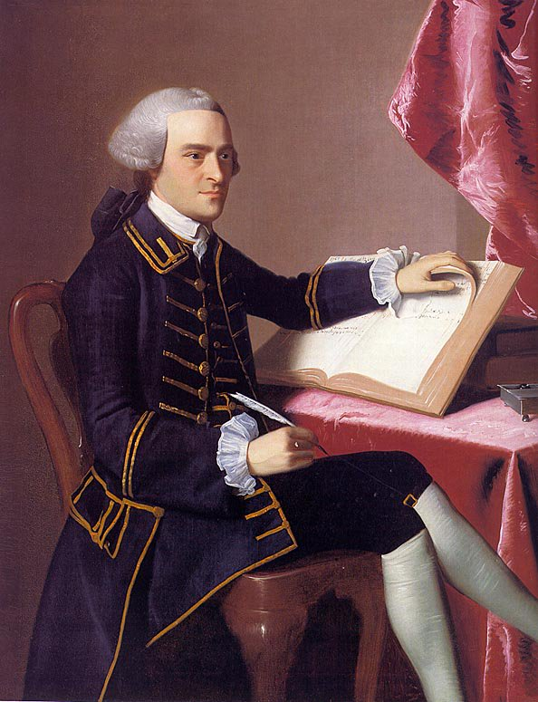 John Hancock 1765 | John Singleton Copley | Oil Painting
