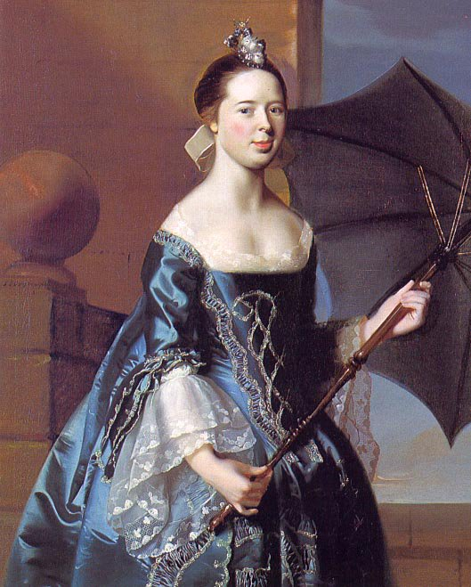 Mrs Benjamin Pickman (Mary Toppan) 1763 | John Singleton Copley | Oil Painting